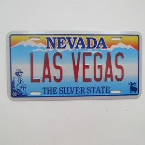 Las Vegas Nevada License Plate New
